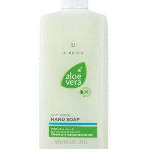 Aloe Vera Крем-сапун за ръце, пълнител 500мл