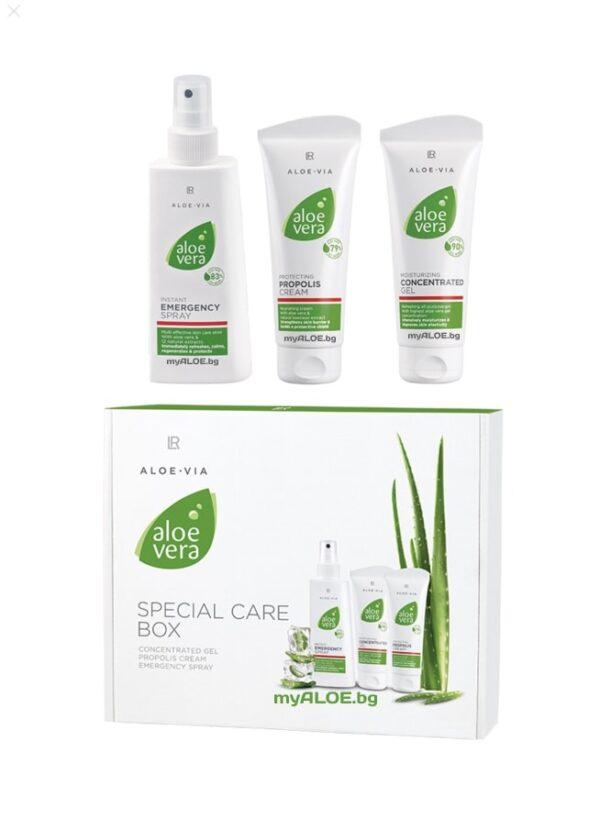 Aloe Vera Box за специална грижа - LR Аптечка Алое Вера