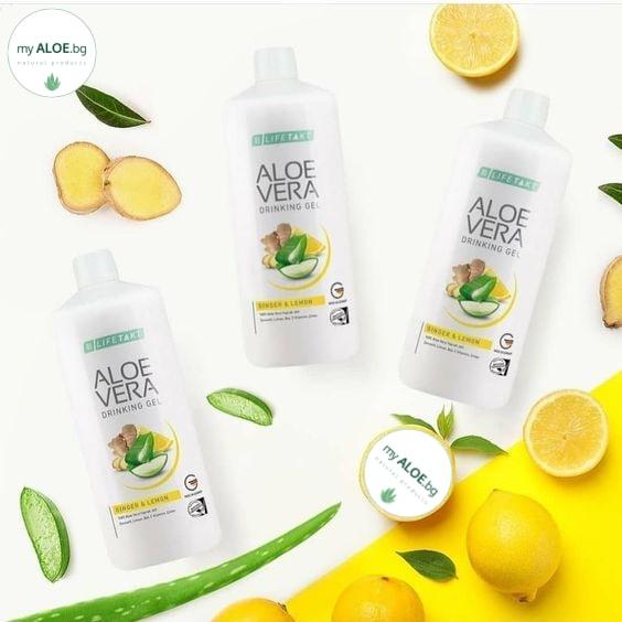 LR Aloe Vera Гел за пиене Immune Plus my ALOE BG онлайн магазин ЛР ордер order eshop ginger джинджифил имунна система