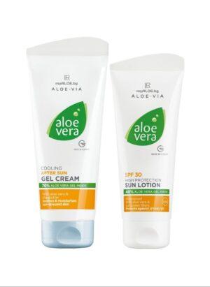 Aloe Vera Слънцезащитен комплект 2