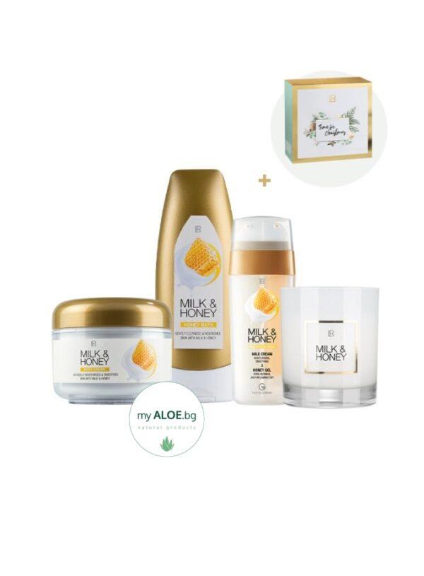 ЛР Milk & Honey Комплект LR Aloe Vera myALOE.bg онлайн магазин коледни подаръци за жени и мъже 2021